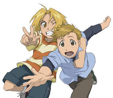 Alphonse et Edward jeunes