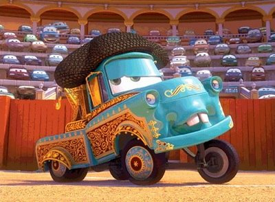 Martin (Mater the Tow Truck - Pixar Cars) court métrage TV