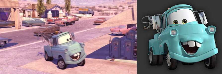 Martin (Mater the Tow Truck - Pixar Cars) 1950