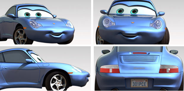 Sally Carrera (Cars - Pixar)
