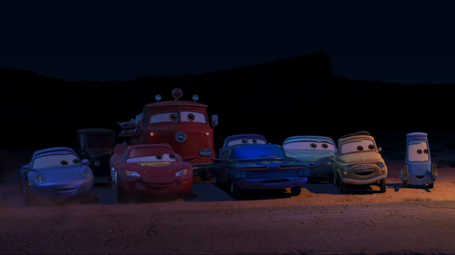 Sally Carrera (Cars - Pixar) dans martin et la lumire fantme