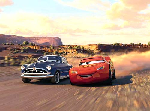 Doc Hudson et Flash