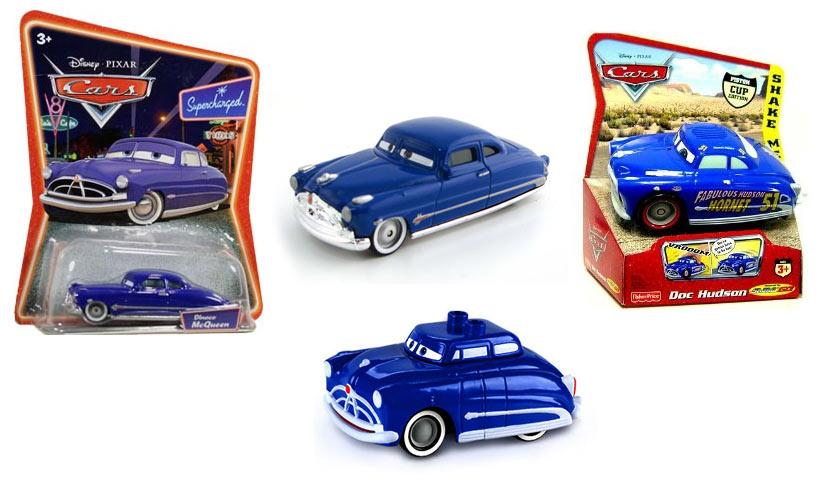 Doc Hudson (Pixar – Cars) jouets et produits dérivés