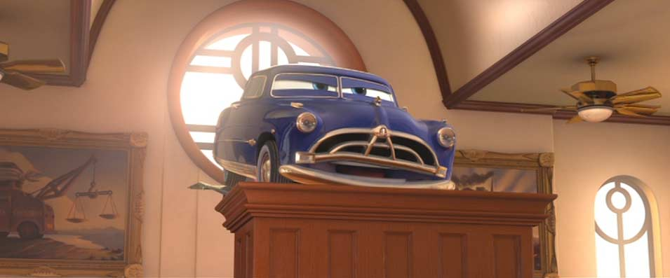 Doc Hudson (Pixar – Cars) Hudson Hornet