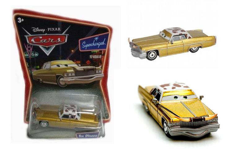 Tex (Cars - Pixar) jouets produits dérivés