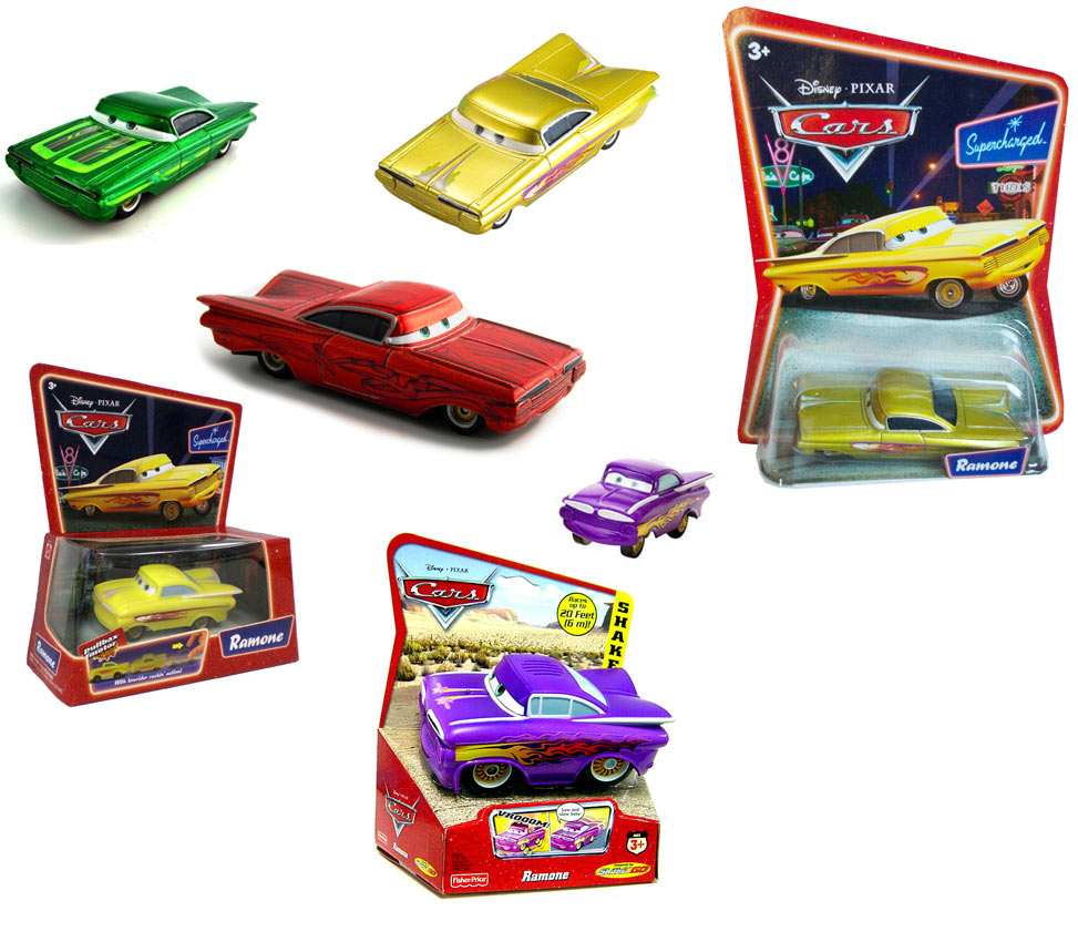 Ramone (Cars - Pixar) jouets produits dérivés
