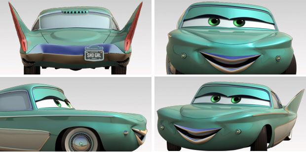 Flo (Cars - Pixar)