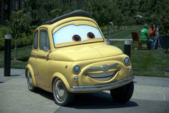 Luigi en vrai à l'échelle 1 (Cars - Pixar)