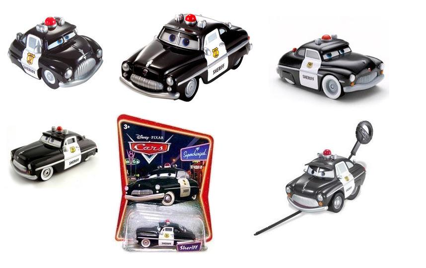 Shérif (Cars - Pixar) Sheriff jouets et produits dérivés