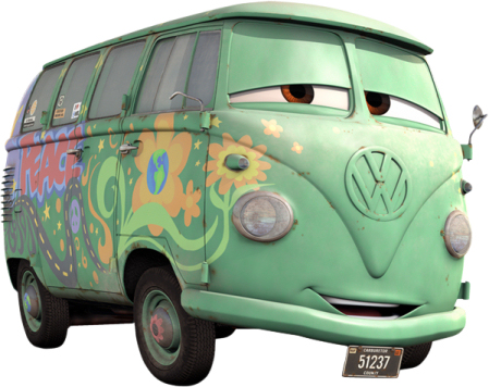 Fillmore (Cars - Pixar)