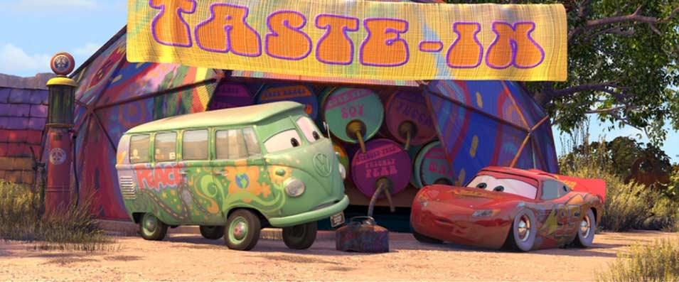 Fillmore (Cars - Pixar)