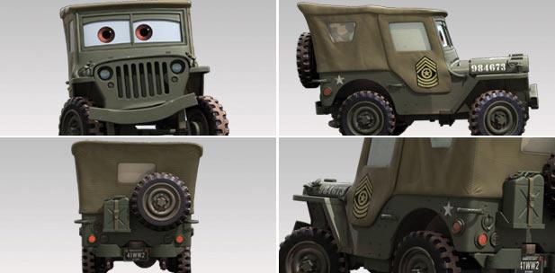 Sarge (Cars - Pixar)