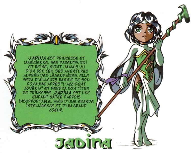 Jadina (Les légendaires)