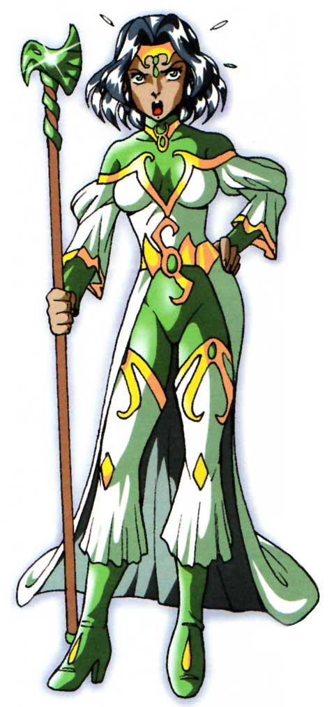 Jadina adulte (Les Légendaires)