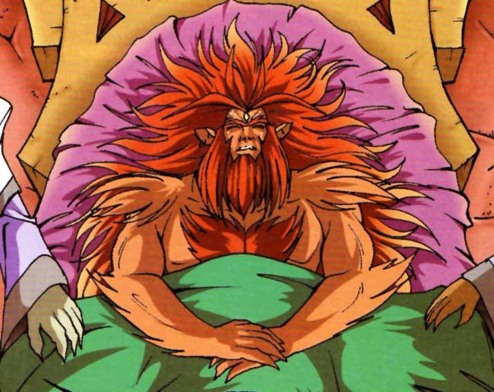 Le roi Wis-Kas est le père de Gryf et de Kel-cha