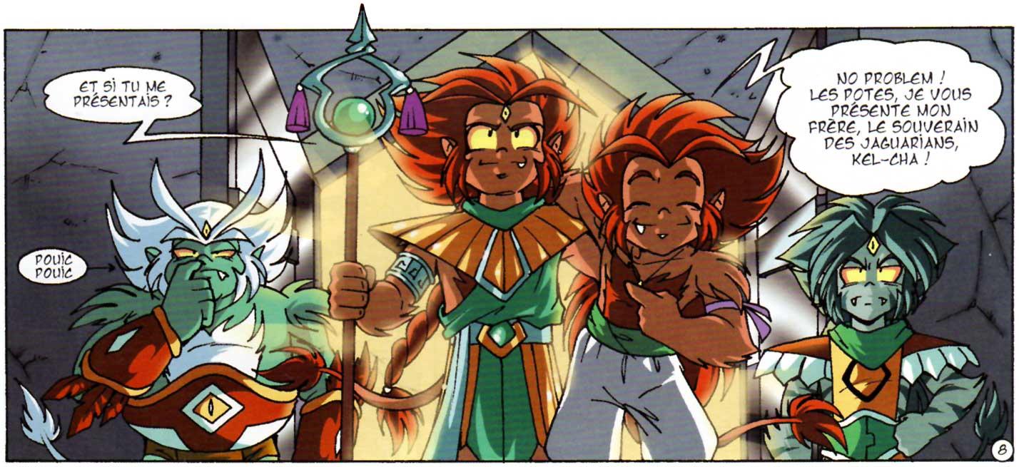Kel-Cha est le frère Jumeau de Gryf