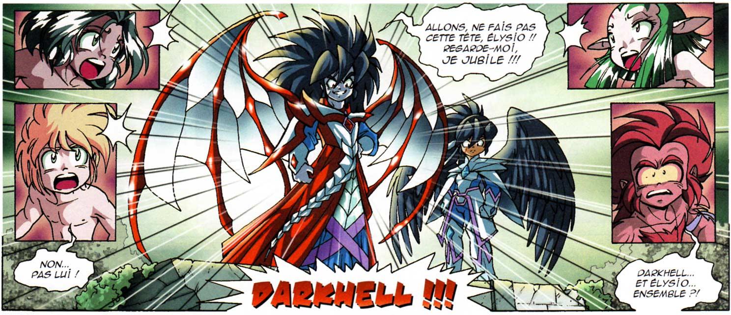 Elyso et Darkhell veulent éliminer les Légendaires, mais Ténébris va leur sauver la mise