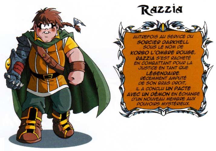 A partir du tome 11 Razzia change de design