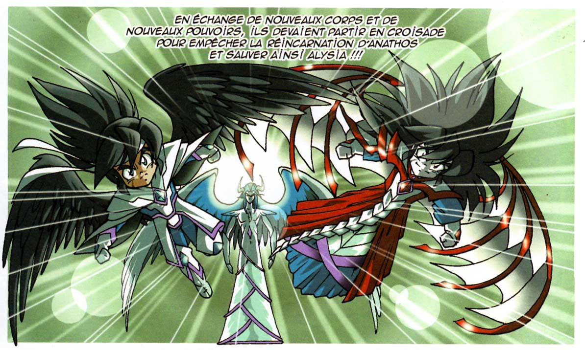 Le Gardien des Pierre a proposé àDarkhell et Elysio de nouveaux corps en échange de l'accomplissement d'une mission permettant de sauver le monde d'Alysia d'une destruction totale.