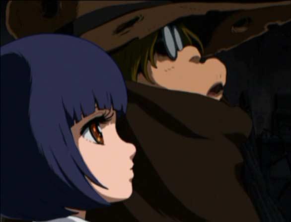 Toshiro et Stellie (Captain Herlock, Endless Odyssey)