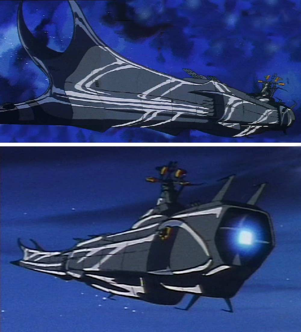 L'Ombre de la Mort - Death Shadow (Albator 84)