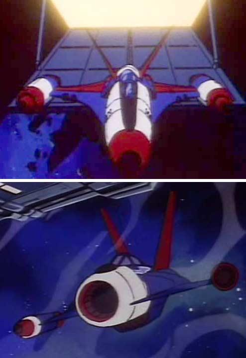 Chasseurs de l'Atlantis dans Albator 84