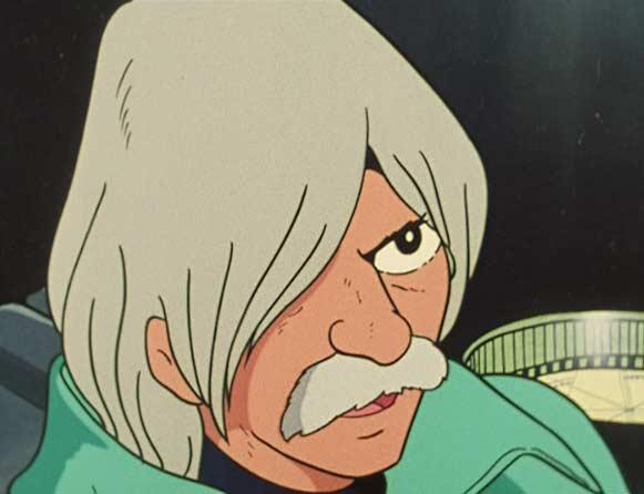 Tsuyoshi Daiba - Professeur Valente (Albator 78)