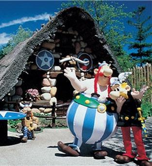 Costume d'Astérix et Obélix au Parc Astérix
