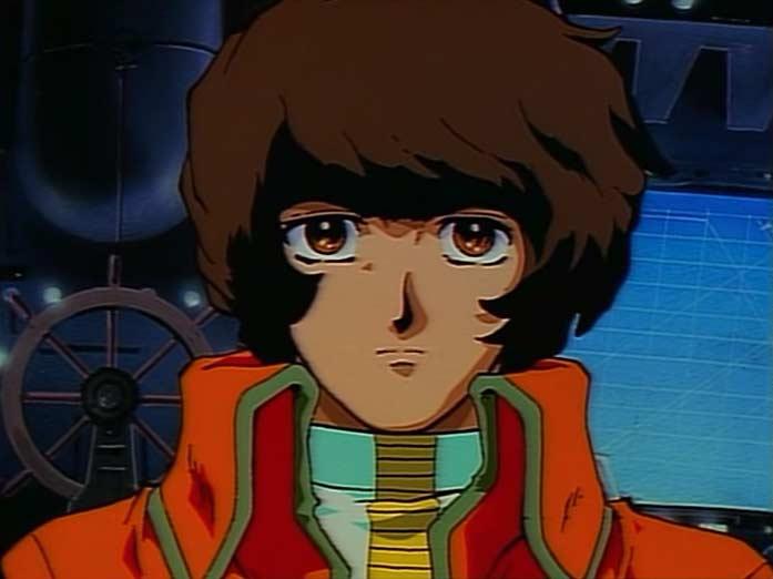 Dans Harlock Saga, le personnage de Tadashi Daiba n'a pas le même design que celui d'Albator 78 et Herlock Endless Odyssey