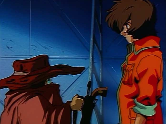 Toshirô donne à Tadashi le Cosmo Draggon de son père