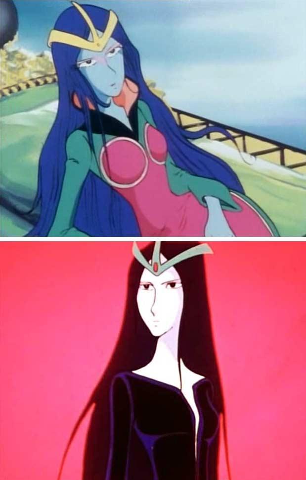 Les deux designs de Sylvidra