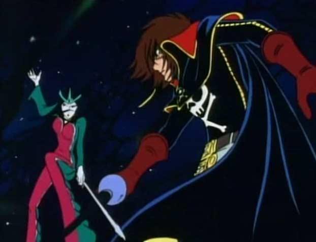Sylvidra affrontera Albator en Duel dans l'avant dernier épisode