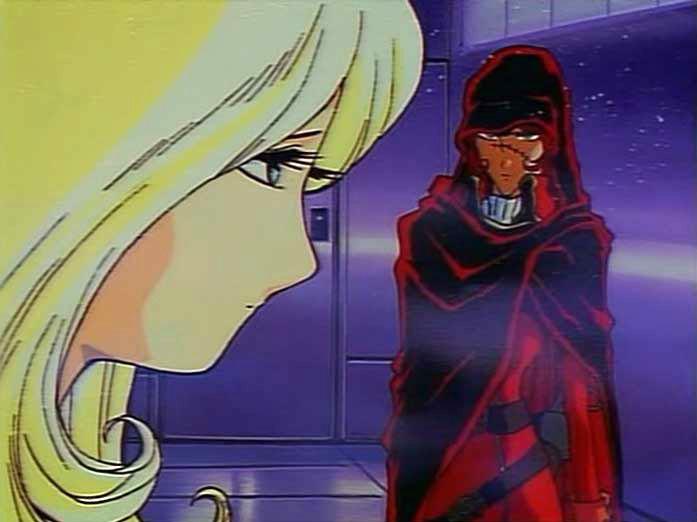 Miimé connaît Emeraldas, Toshiro, Albator et Maetel depuis qu'ils sont enfants