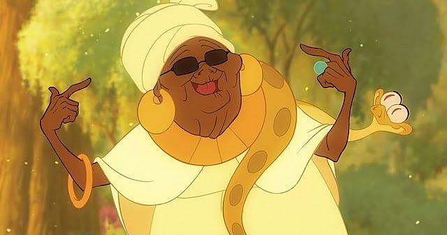 Mama Odie la sorcière déjantée du Bayou