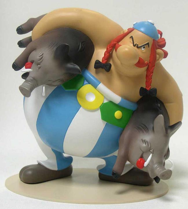 Figurine d'Obélix
