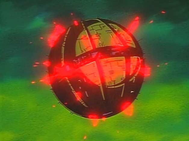 Dans la série TV, Alberich meurt dans l'explosion de la forteresse