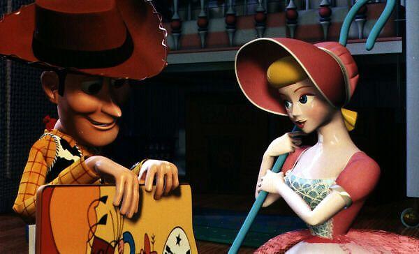 Woody a un faible pour la jolie bergère