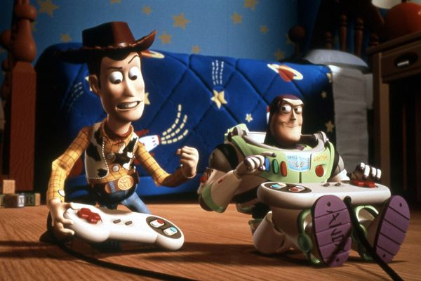 Buzz et Woody sont maintenant amis