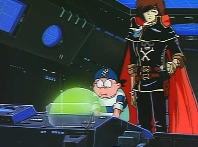 Dans Harlock Saga, Yattaran est un personnage plus posé que dans le Manga l'Anneau des Nibelungen