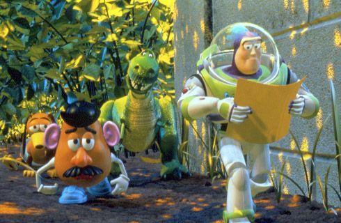 Monsieur Patate et les autres jouets se lancent à la recherche de Woody