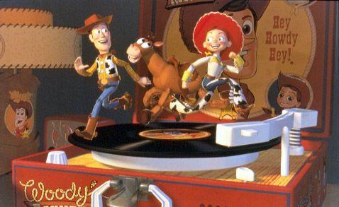Jessie fait découvrir l'univers de la série à Woody