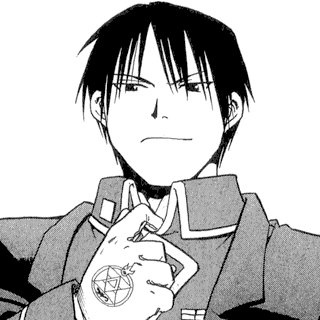 Roy Mustang (Fullmetal Alchemist)