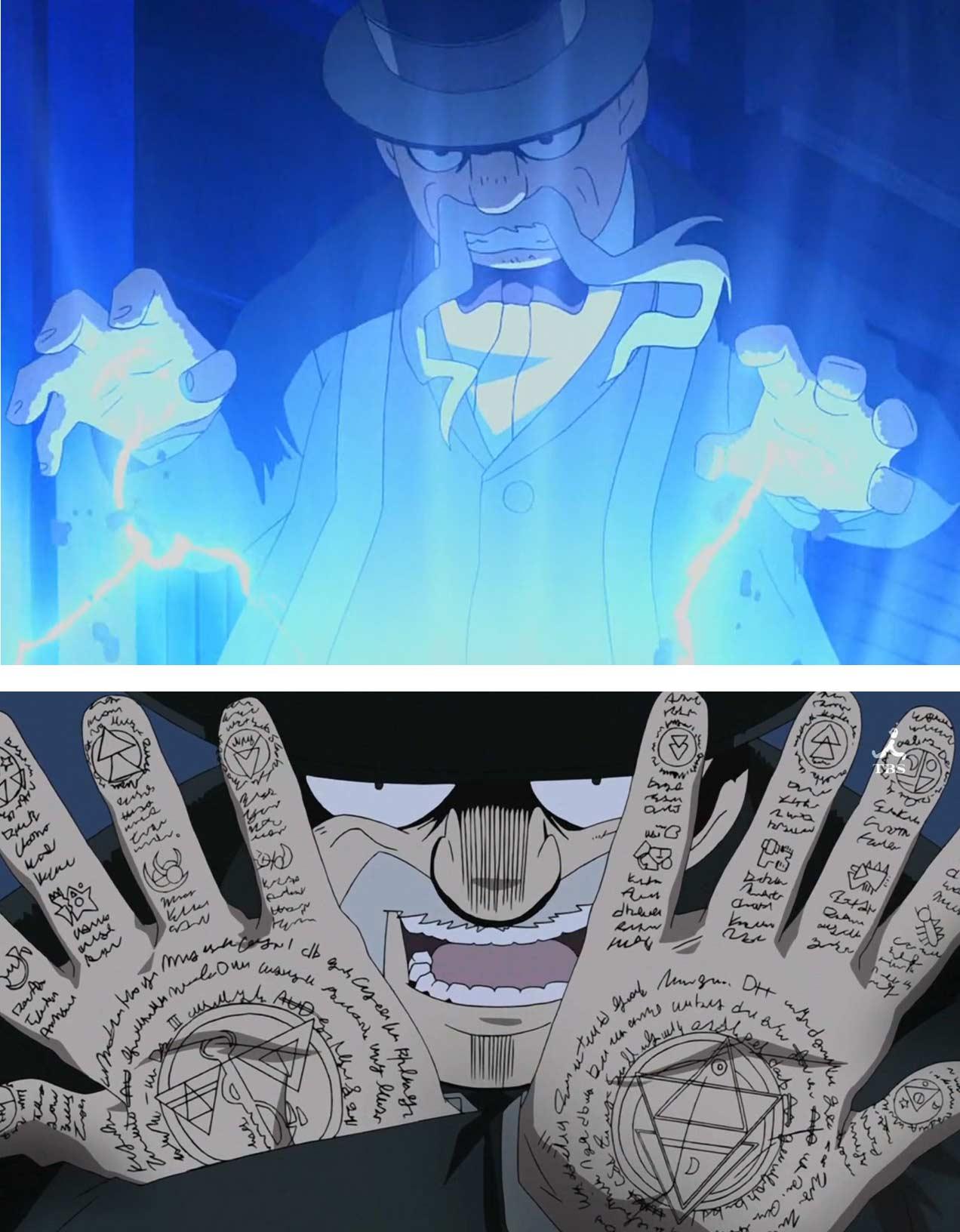 Jolio Comanche l'Alchimiste d'Argent (Fullmetal Alchemist)