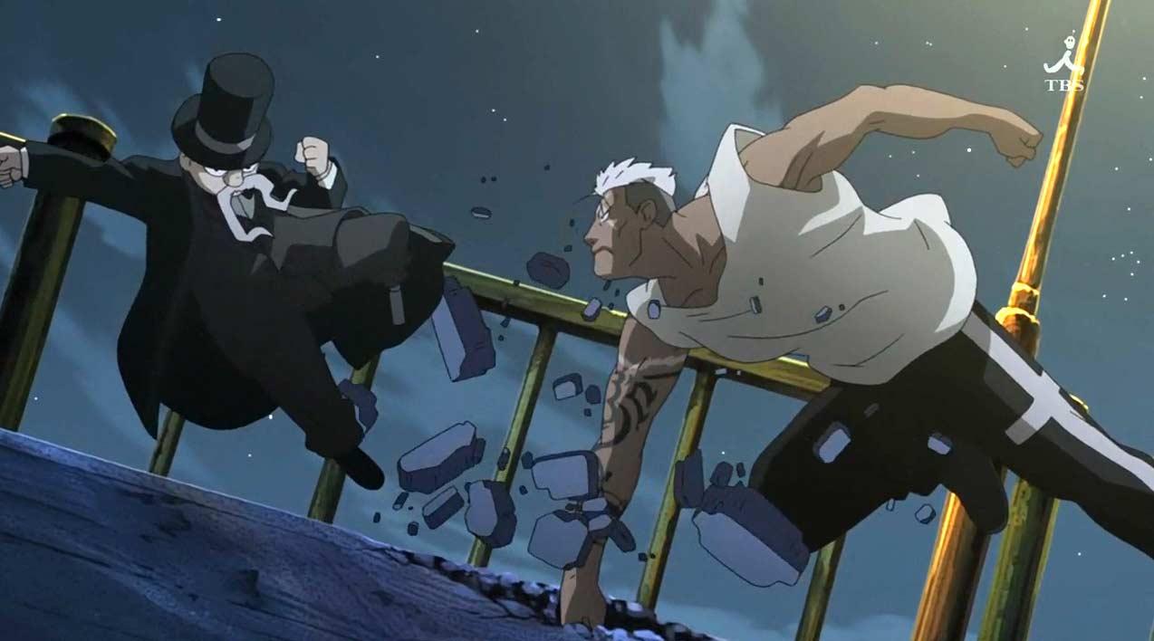 Jolio Comanche essaie d'arrêter Scar, mais ce combat lui sera fatal
