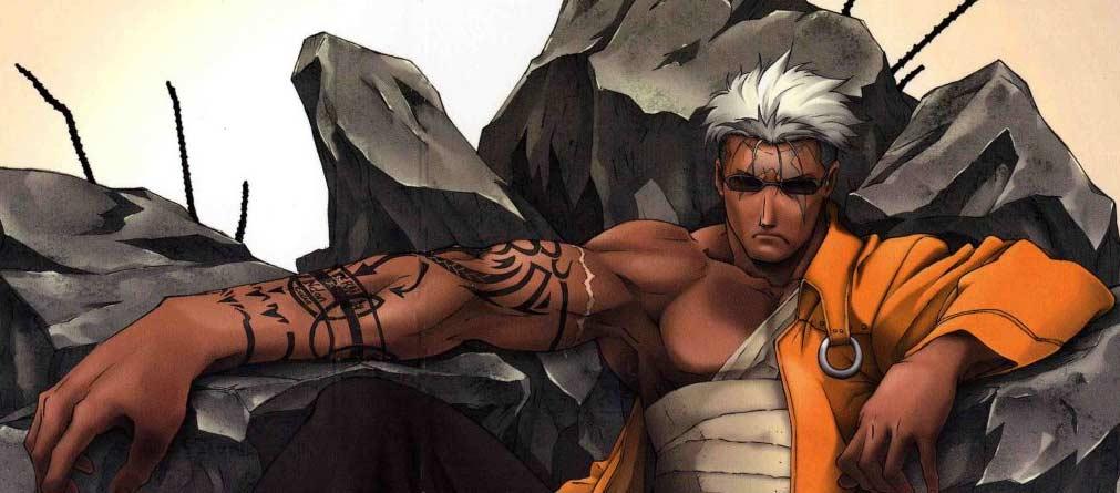 Scar et son bras tatoué (Fullmetal Alchemist 2004)