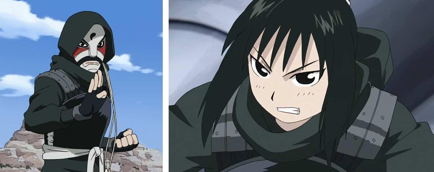 Ranfan est la petite fille de Who, elle est aussi une redoutable garde du corps protégeant Lin