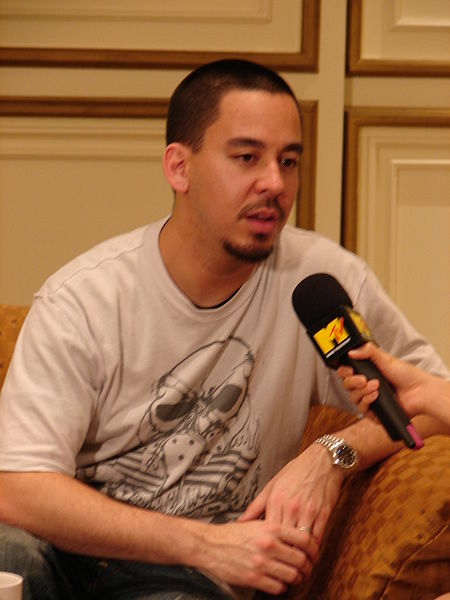 Interview Mike Shinoda, chanteur de Linkin Park. Crédit : Sry85 - Wikipedia