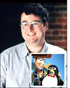 Joe Ranft a doublé Siffli le pinguin dans Toys Story 2