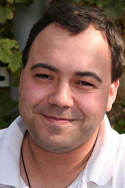 Patrick Sobral lors du festival Delcourt en septembre 2007 (image Wikipédia)