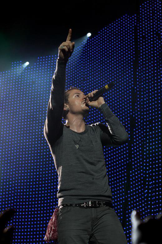 Chester Bennington, chanteur de Linkin Park, crédit : Rickard Laurin pour Wikipedia
